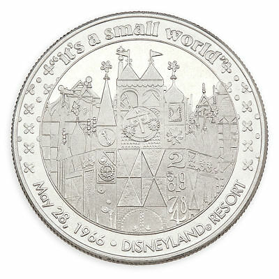 Disneyland/Disney World It's a Small World Collectible Steel Coin, NEW