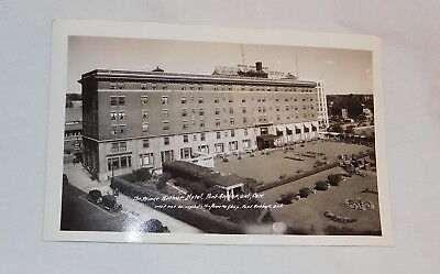 vintage The Prince Arthur Hotel Port Arthur Ontario Canada real photo postcard