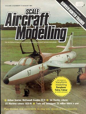 Scale Aircraft Modelling Aug 81 Hawker Hunter Trainers