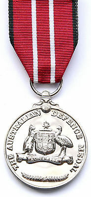 Australian Defence Medal in Display Box Issued by Army