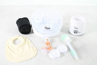 Tommee Tippee Closer to Nature Complete Starter Kit BPA Phthalate Free 522780
