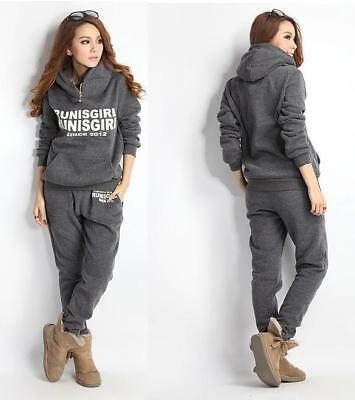 New Women Autumn Stylish hoodies Suit Thickening Leisure Sports Hoodie W3LE 01
