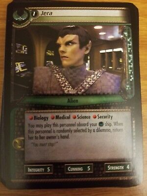Star Trek 2E CCG In A Mirror Darkly 13C63 Hikaru Sulu Savage Security Chief TCG