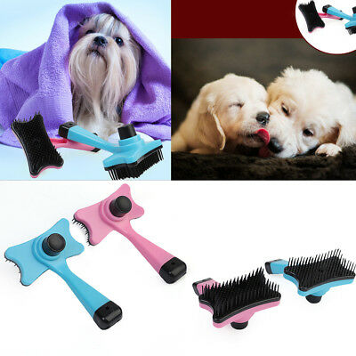 Pet Dog Cat Puppy Hair Trimmer Comb Brush Slicker Shedding Rake Grooming Tool