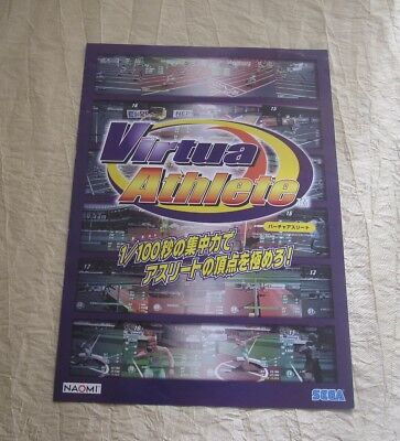 2002 Sega Virtua Striker 2002 Jp Video Flyer Collectibles Arcade Gaming