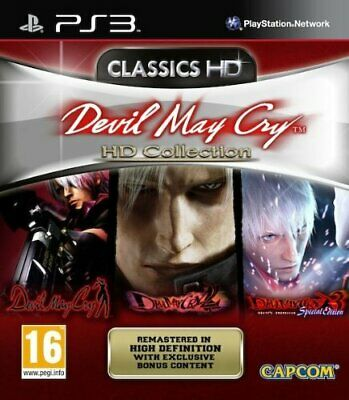 Ps3 Game Devil May Cry - HD Collection - Trilogy Trilogy HD 1 2 3 DMC New