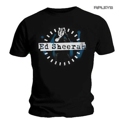 Official T Shirt ED SHEERAN Divide Dashed Stage Photo Live All Sizes