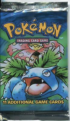 Wizards Of The Coast Pokemon Base Set Unlimited Factory Sealed Pack Venusaur