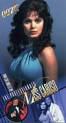 Inkworks Women Of James Bond Widevision Base Card #18 Miss Caruso