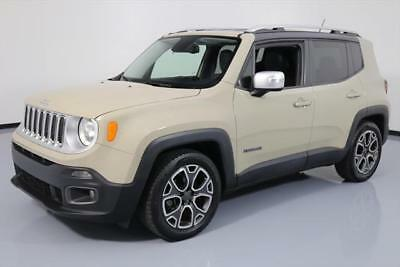 2015 Jeep Renegade Limited Sport Utility 4-Door 2015 JEEP RENEGADE LIMITED HTD LEATHER REAR CAM 32K MI #C37944 Texas Direct Auto