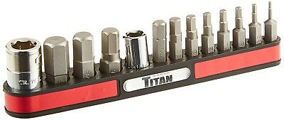 Titan 16111 13 Piece Sae Hex Key Bit Set