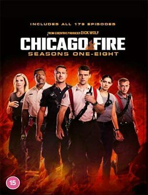 Chicago Fire 1-5 Complete Dvd Season 1 2 3 4 5 Englisch