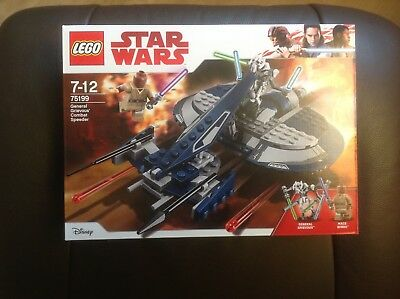 Lego Star Wars General Grievous Combat Speeder aus Set 75199