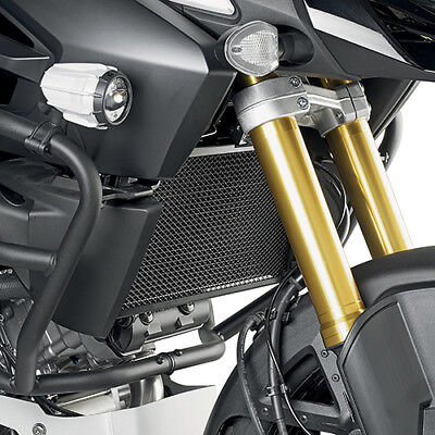 Stainless Steel Black Radiator Guard Suzuki DL 1000 V Strom 2014-2016