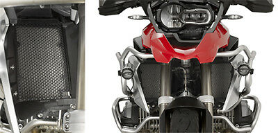 Stainless Steel Black Radiator Guard BMW R 1200 GS Adventure 2014-2017