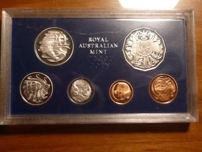 Australia 1980 Proof Set, No Box Or COA, Coins Nice, SKU #8711
