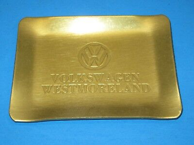 Vw Volkswagen Of America Collectible Promo Ashtray