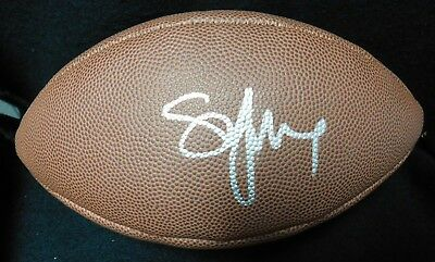 c573cd5c JOE MONTANA SIGNED Autographed San Francisco 49Ers Wilson Nfl Duke ...