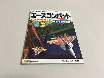 Ace Combat Official Perfect Guide Book PlayStation Japan NAMCO
