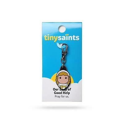 Tiny Saints Our Lady of Good Help  CHARM- Paracord Bracelets Backpacks Gifts NEW