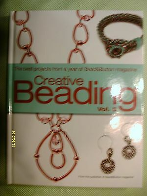 Lot of 2 beading books creative bead weaving new crafts beadwork creative beading vol 5 the best projects from a year of bead button fandeluxe Images