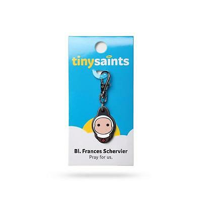 Tiny Saints Blessed Francis Schervier  CHARM- Paracord Bracelets Backpacks Gifts