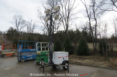 2011 Magnum MLT3060 Towable Light Tower Generator Diesel 6 kW Genset bidadoo