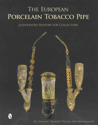 Antique European Porcelain Tobacco Pipes Illustrated History Collectors 300yrs