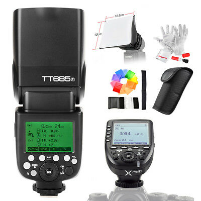 Godox TT685F TTL HSS Flash Speedlite + Xpro-F Transmitter for Fujifilm Camera