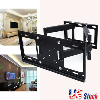 LED LCD TV Full Motion Wall Mount Bracket Swivel 26 32 37 40 42 46 47 50 52 55