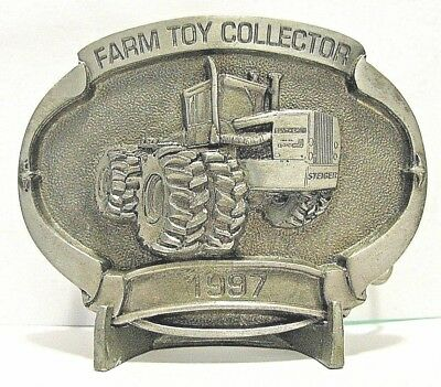 1997 Case IH Steiger PANTHER 4WD Tractor Pewter Belt Buckle Limited Ed 139/500
