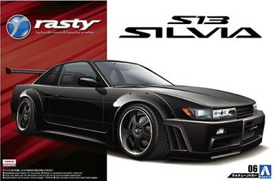 Aoshima Models 1/24 Nissan Rasty PS13 Silvia 1991
