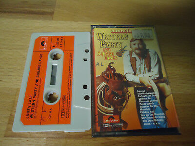 MC Musikkassette JAMES LAST - WESTERN PARTY AND SQUARE DANCE 1977 TAPE