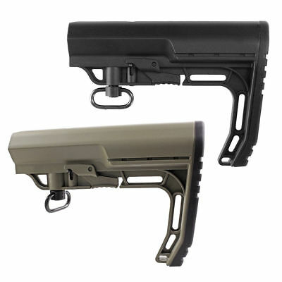 Adjustable MFT Black/Tan Stock Mission Tactical Quick Release Hunting Rail