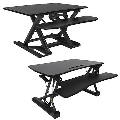 Sit-Stand Height Adjustable Desk Table Top Standing Desk Quick Adjust Height