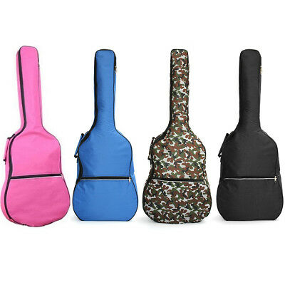 39''-41'' Double Straps Acoustic Guitar Soft Carry Case Gig Bag Padded Backpack
