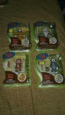 Hanna Barbera Tom and Jerry Zoot Suit Tom, Jerry, Spike & Tom Lot of 4! New!!!