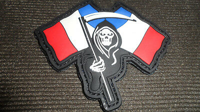 Patch Pvc 3D France La Mort  France Opex