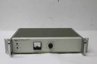VINTAGE HP 5087A Distribution Amplifier w/ 12 10MHz Outputs,Option 031 TESTED