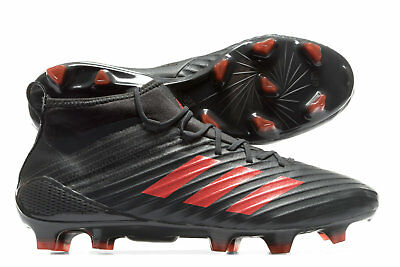 adidas Mens Predator Flare Firm Ground Rugby Boots Sports Shoes Studs Brown