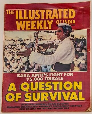 THE ILLUSTRATED WEEKLY OF INDIA May 1984 MAGAZINE Olympics Astrology Islam
