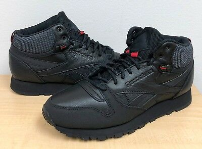 f595bd831fa ... Shoes Hunter Green  Stone Grey BS8327.  77.95 Buy It Now 10h 53m. See  Details. MENS REEBOK CLASSIC LEATHER MID TWD BS6363 Black Excellent  Red Blackstone