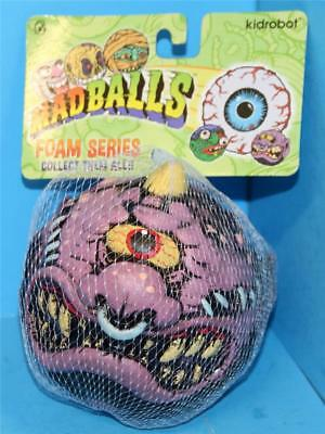 KIDROBOT MADBALLS DUST BRAIN 4-Inch Foam Figure AWESOME VHTF