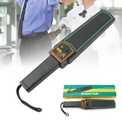 Handheld Metal Detector Portable Security Super Scanner Wand Airport Scan Tool