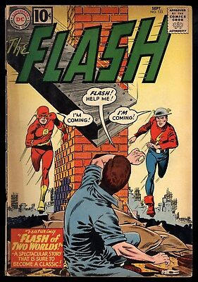 Flash (1959) #123 1st Print 1st Golden Flash in Silver Age 1st Earth II FR/GD