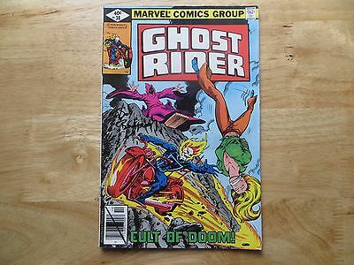 Bronze Age 1979 Marvel Comics Ghost Rider # 38 Signed By Bob Budiansky With Poa