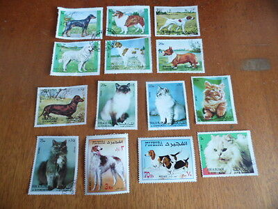 nickstampshop ~~ Middle East ~ Cats & Dogs