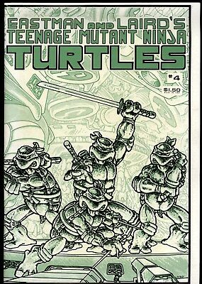 Teenage Mutant Ninja Turtles (1984) #4 1st Print Mirage Studios B&W Mag VG/FN