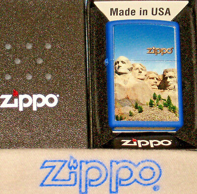 ZIPPO MOUNT RUSHMORE Lighter NATIONAL MEMORIAL PARK New  MINT In BOX