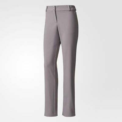 NEW Adidas Womens ClimaStorm Fall Weight Pants - Trace Grey - Small BC7035
